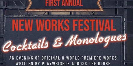 Cocktails & Monologues tickets