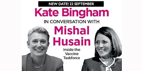 PHLS 2021: Kate Bingham in conversation with Mishal Husain tickets