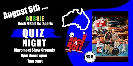 Aussie Quiz Night - Rock n Roll v Sport Trivia Quiz tickets