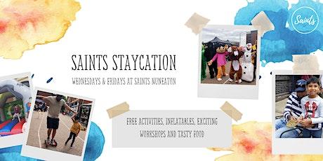 Saints Staycation @ Saints Nuneaton - Friday13th August 2021 tickets