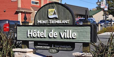 Séances des conseils d'agglomération et municipal   Ville de Mont-Tremblant billets