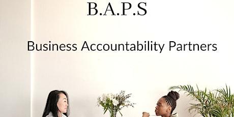 BAPS: Business Accountability Partners tickets