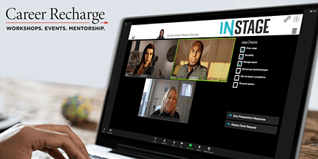 Career Recharge: InStage Live – Introduce Yourself tickets