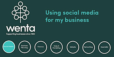 Using social media for my business - Stevenage tickets