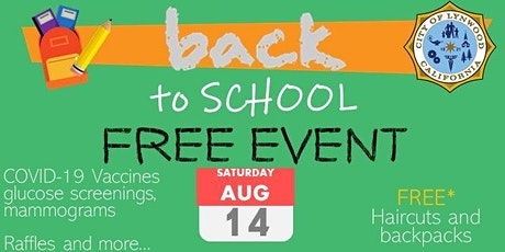 Happy Back to School! FREE backpacks and kids haircuts! tickets