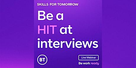 Be a hit at interviews billets