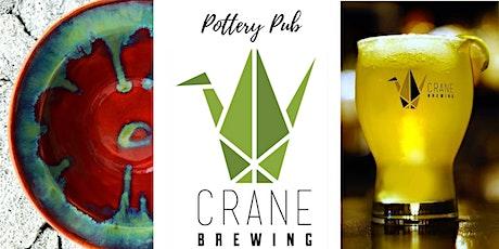 Pottery Pub | Crane Brewing Co tickets