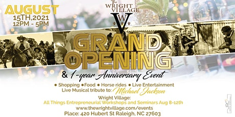 Grand Opening and 1-Yr Anniversary Event tickets
