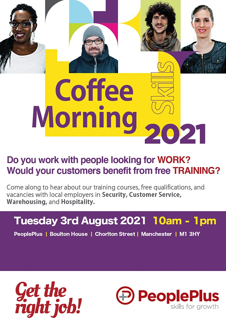 Skills Coffee Morning Manchester image