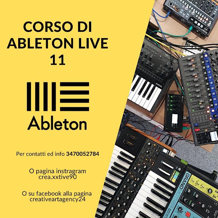 Immagine Corso  di Ableton Live 11