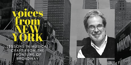 Voices from New York  - John Weidman on Libretto tickets