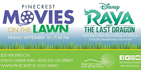 Silent Disco and a Movie on the Lawn tickets