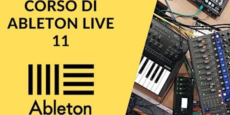 Corso  di Ableton Live 11 biglietti