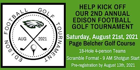 2nd Annual Edison Football Golf Tournament tickets