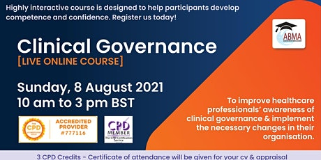 Clinical Governance tickets