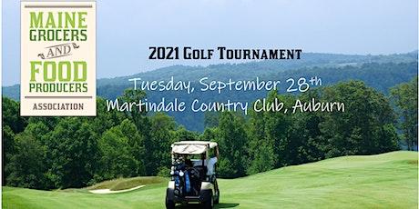 2021 MGFPA Golf Tournament tickets