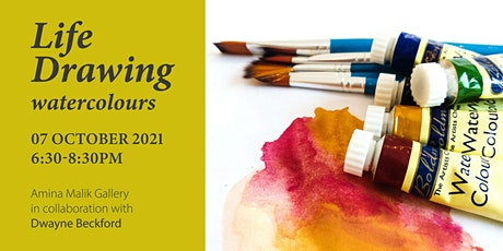 Life Drawing with Dwayne Beckford: Watercolours tickets