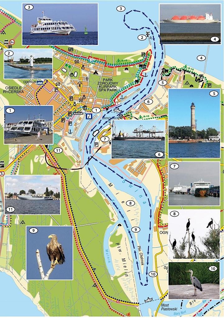 Hafenrundfahrt Swinemünde - das Schiff m/s Chateaubriand: Bild