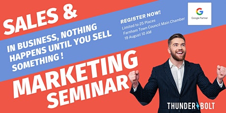 In Business, Nothing Happens Until You Sell Something! (That's The Truth) tickets