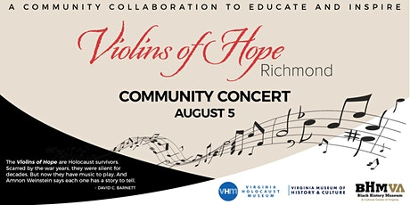 And Their Music Lives On, A Violins of Hope Community Concert tickets