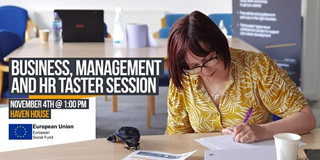 Business Management and HR Taster Session tickets