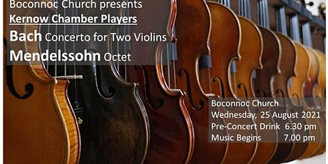 Kernow Chamber Players perform Bach and Mendelssohn tickets