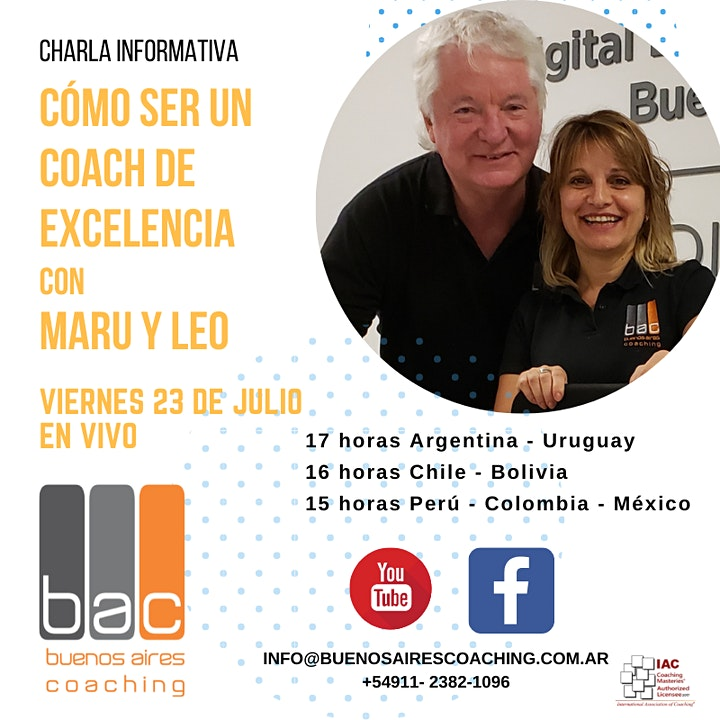 Imagen de Cómo Ser un Coach de Excelencia con Maru & Leo