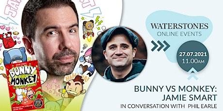 Bunny vs Monkey Online Event with Jamie Smart tickets