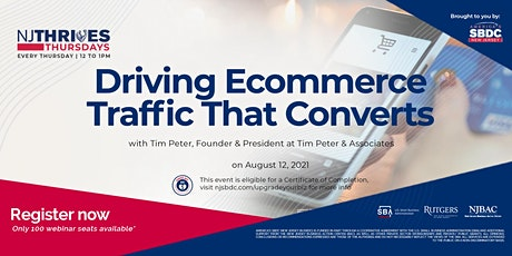 Driving Ecommerce Traffic That Converts tickets