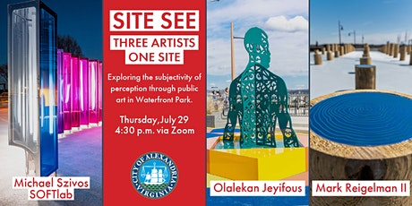 Site See: Three Artists, One Site / The Subjectivity of Perception tickets