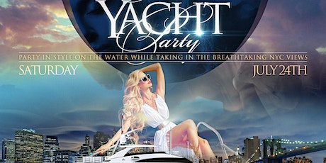 NYC YACHT PARTY & CRUISE WHILE TAKING IN AMAZING MUSIC & BREATHTAKING VIEWS tickets
