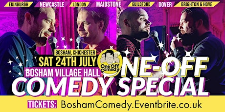 One Off Comedy Special at Bosham Village Hall - Chichester tickets