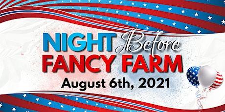 Night Before Fancy Farm GOP Dinner-2021 tickets