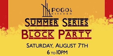 Summer Series Block Party tickets