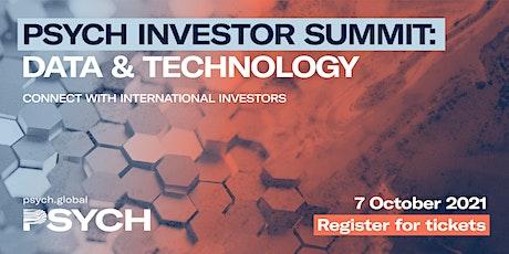PSYCH | Investor Summit: Data & Technology tickets