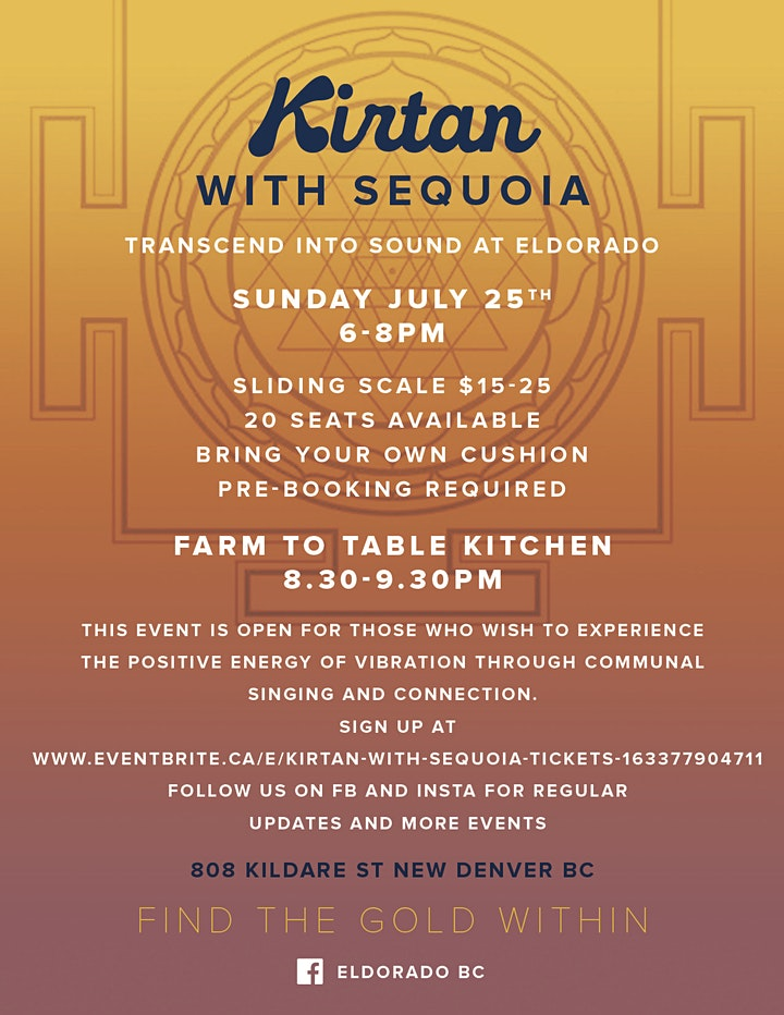 Kirtan with Sequoia image