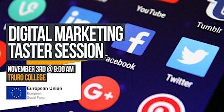 Digital Marketing Taster Session tickets