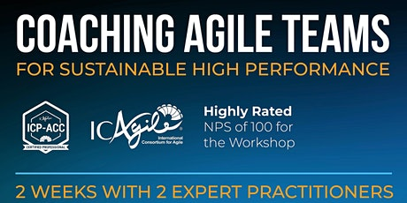 Coaching Agile Teams for Sustainable High Performance | ICP-ACC tickets