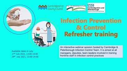Infection Control Refresher for Supported Living tickets
