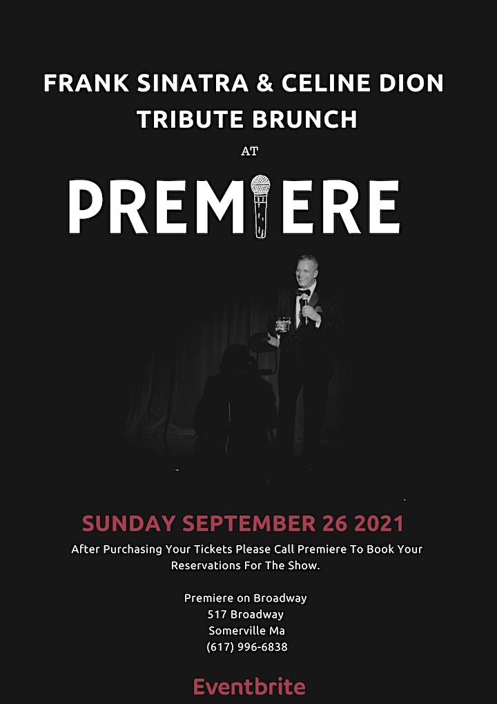 Frank Sinatra and Céline Dion Tribute  Brunch image
