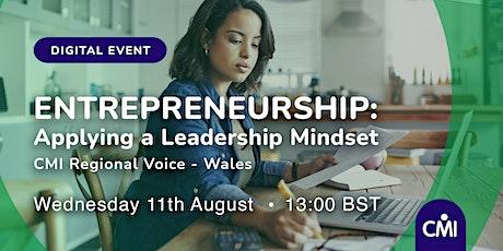Entrepreneurship: Applying a Leadership Mindset biglietti