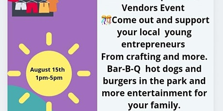 Youth Entrepreneurs Vendors Event tickets
