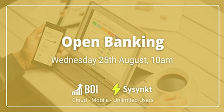 Open Banking tickets
