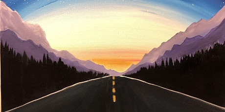 """Calgary """"take me to the mountains"""" paint night tickets"""