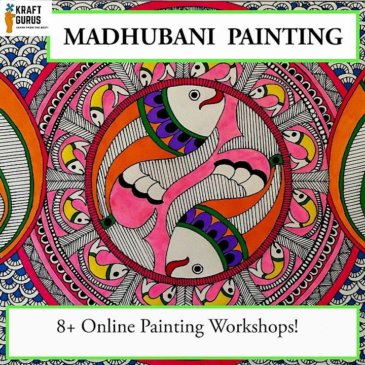 Madhubani Painting-Summer Holidays  Workshop! image