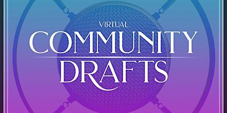Community Drafts Open Mic (Online) tickets