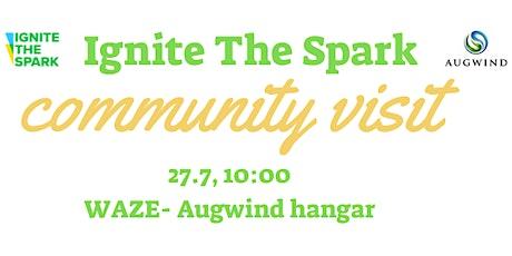 Ignite The Spark Community Visit #1- Augwind billets