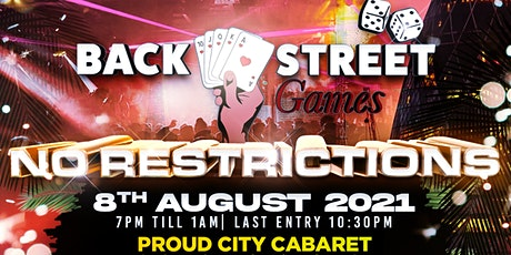 Backstreet Games NO RESTRICTIONS !! tickets
