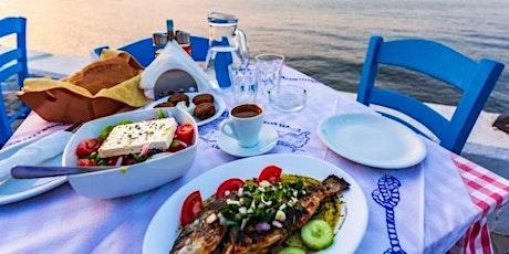 Greek cuisine potluck tickets
