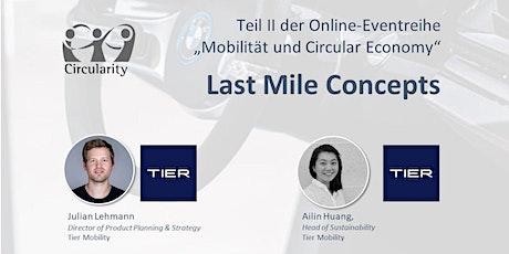 Mobilität und Circular Economy: Last Mile Concepts bilhetes
